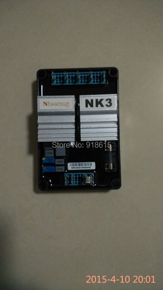 NK3 AVR automatic voltage regulator gasoline or diesel generator parts. heat pad