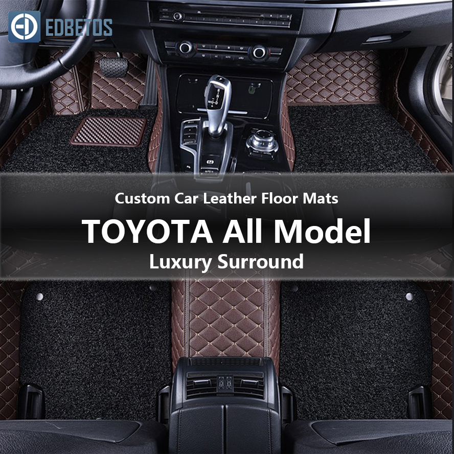 3D Full Protection Car Accessories Black 3 Piece Set Rear Row Have air Outlet All Weather Floor Mat for 16-17 Lexus RX