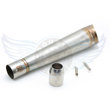 motorbike accessories muffler Modified motorcycle exhaust pipe stainless steel fried tube gp exhaust pipe For Universal