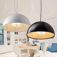 Современный черный и белый светодиодный Hanglamp небо сад подвесные светильники/подвесной светильник E27 свет best Украшение лампы для Спальня го