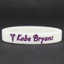 Top Quality Men's Silicone Basketball Bracelets Lakers Kobe Bryant Sport Energy Balance Wristband Power Bangle