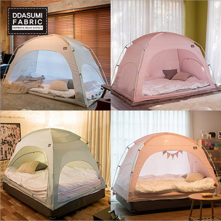 authentic Korean winter indoor tent bed tent breathable warmth saving childrenu0027s tent Game House Energy saving Home tents-in Sun Shelter from Sports ... & authentic Korean winter indoor tent bed tent breathable warmth ...