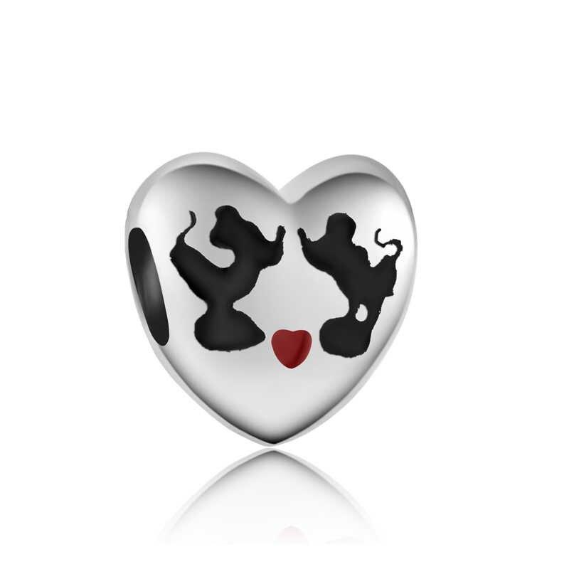 Btuamb ร้อนขายหรูหรา Snowman Key Evil Eyes เครื่องบิน Bow Heart Bead Fit Pandora Charms สำหรับ DIY Bijoux เครื่องประดับ