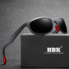 HBK Aluminum+TR90 Men Polarized Sports Sunglasses TAC Lens Women/Men Vintage Fishing Eyewear Driving Sun Glasses Oculos PM0091