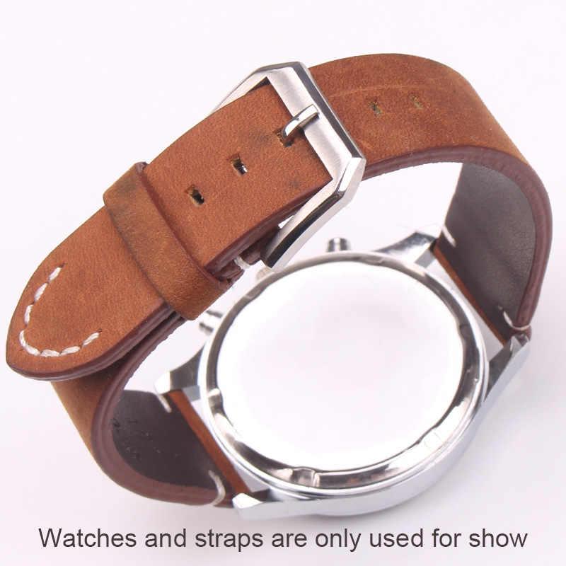 316L od zegarków ze stali nierdzewnej zapięcie 18mm 20mm polerowane szczotkowanego wysokiej jakości srebrny zegarek pasek akcesoria Tang Pin klamra