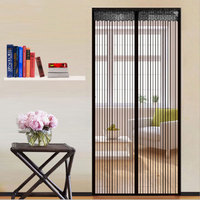 Hot Sale 1Pcs 1 2 1m Summer Style Mesh Prevent Mosquito Kitchen Door Screen Durable Cur