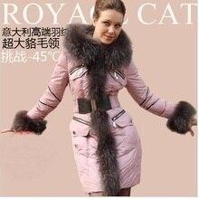 2016 Winter Jacket Women Dowm parkas Luxury Down Jackets fur collar down coats medium-long female thicken Down Coat Outwear