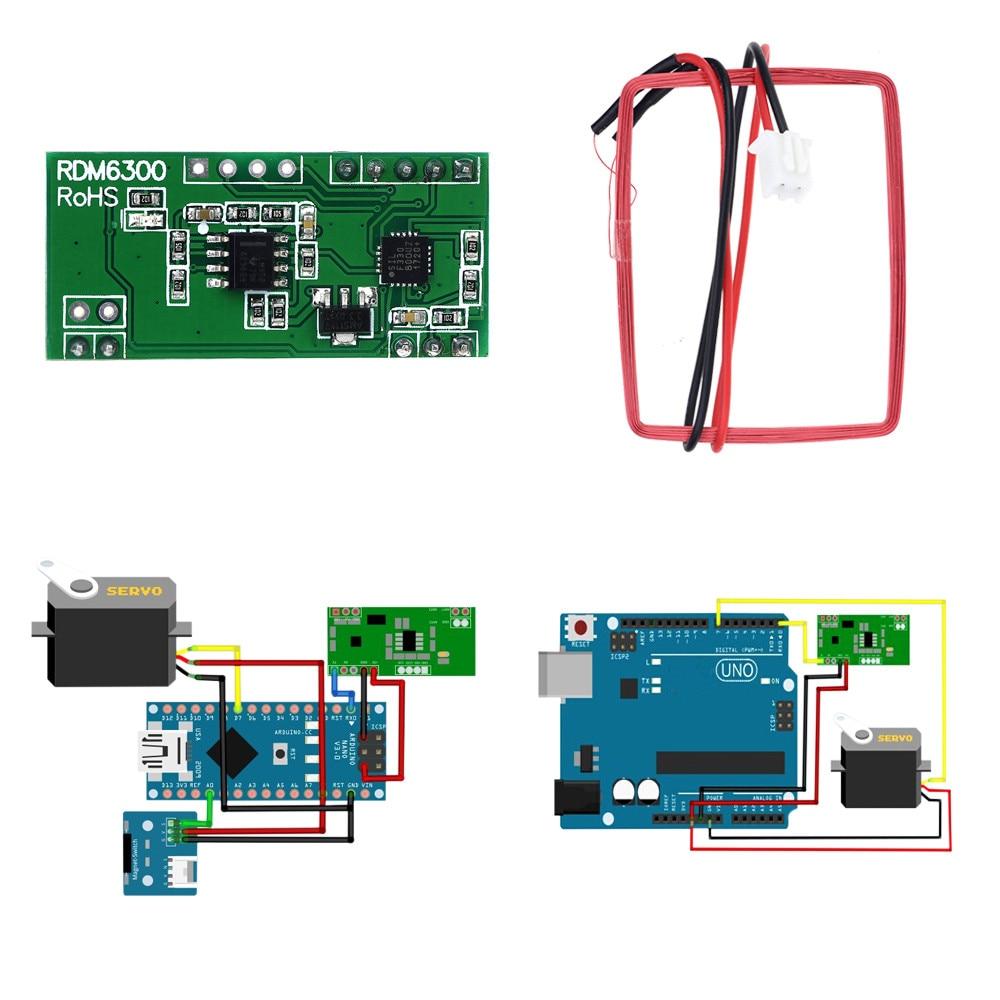 Khz rfid reader module rdm uart output access