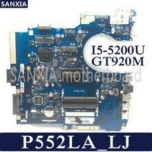Kefu P552LA_LJ материнская плата для ноутбука ASUS P552LA P552LJ P552L P552 Тесты оригинальная материнская плата I5-5200U GT920M