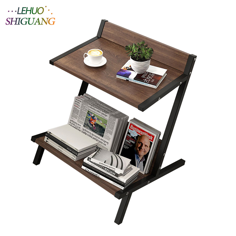 Nordic Wood Double layer Coffee Table Living room Sofa Side Table Small Dining Table Small end Table Home FurnitureNordic Wood Double layer Coffee Table Living room Sofa Side Table Small Dining Table Small end Table Home Furniture