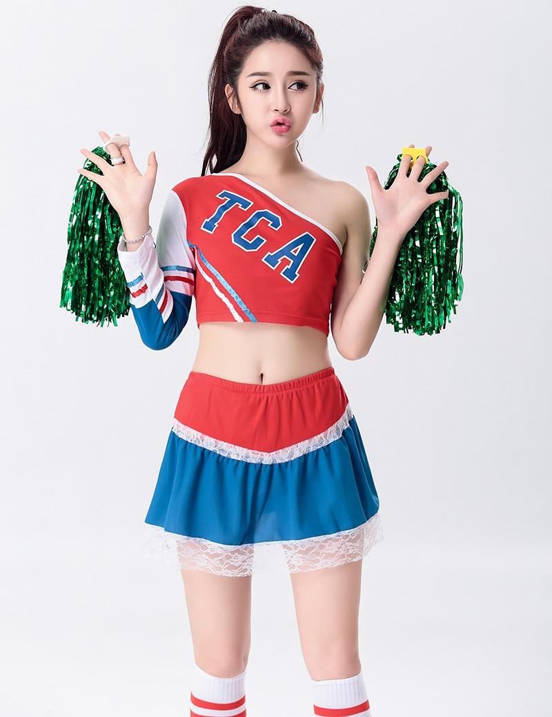 schoolgirl cheerleader flash