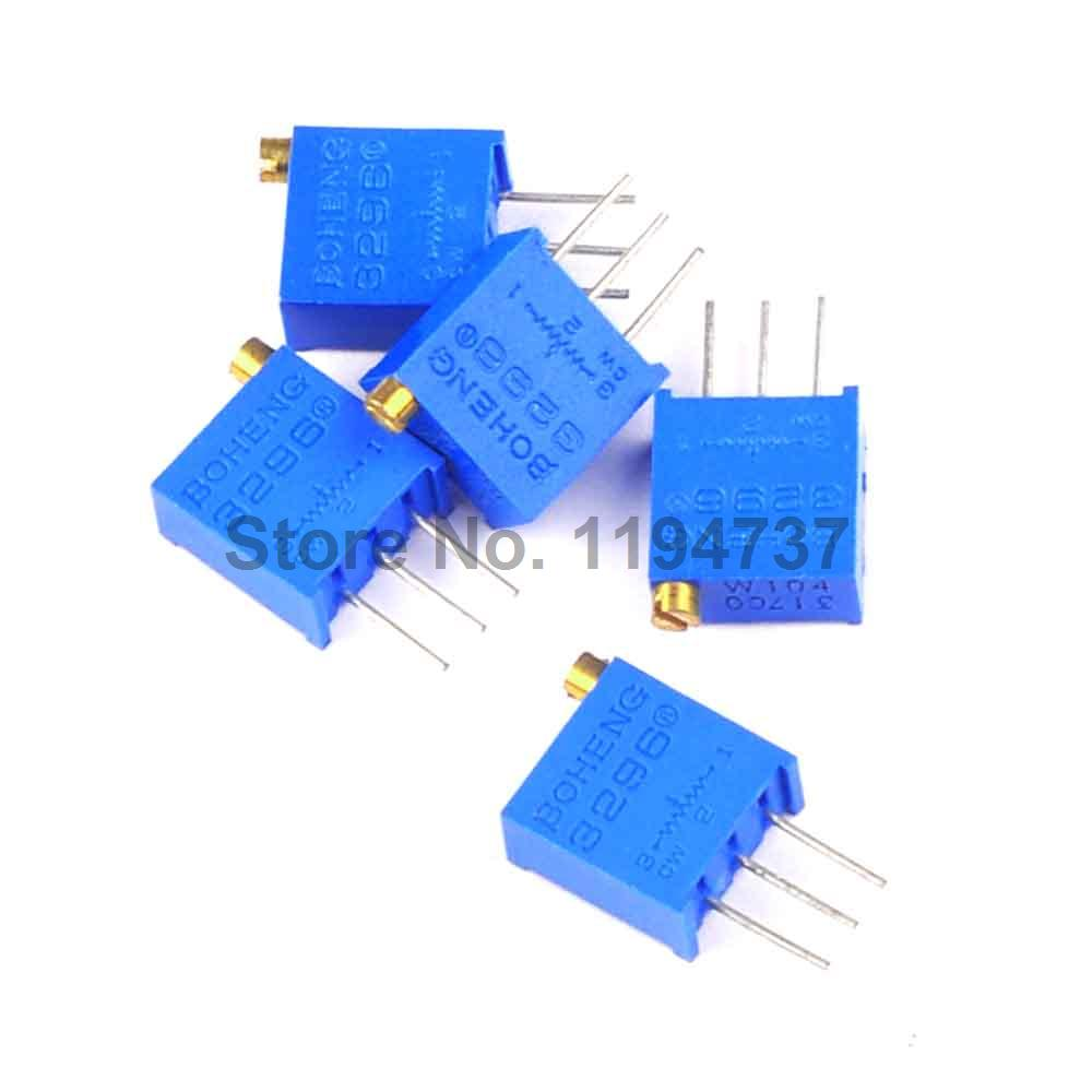 10pcs 3296w 1 103lf 10k Trimpot Trimmer Potentiometer A981 For Mosfet Cut 40 Plasma Cutter Circuit Board Pc 220v