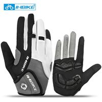 INBIKE Winter Cycling Gloves Full Finger Gel Padded Bicycle Bike Gloves Outdoor Sports Snowboard Glove Motorcycle