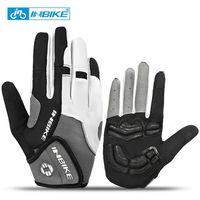 INBIKE Winter Motorcycle Gloves Full Finger Mountain Bike Gloves Shockproof Ski Mtb Sport Bicycle Raing Cycling Gloves Mitts
