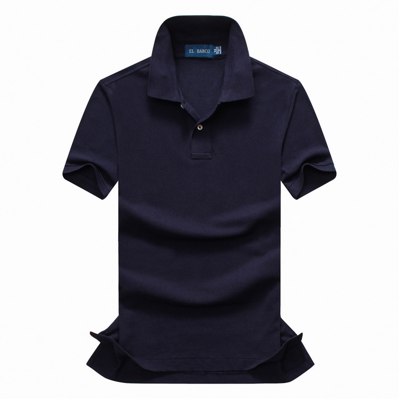 Summer Casual Short Sleeve Knitted Cotton Men   Polo   High Quality Soft Breathable Brand Designer Male Solid Camisa   Polo   Shirt XXL