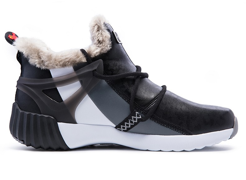ONEMIX New Winter Running Shoes for women Comfortable Women's boots Warm Wool Sneakers Outdoor Unisex Athletic Sport Shoes women 22