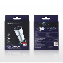 ROCK H2 Car Charger with Digital Display
