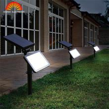 XINREE 48LED Super Bright Solar Light Constant Light Solar Flood Light Garden Wall Light Outdoor Lawn Lamp White Warm White IP65