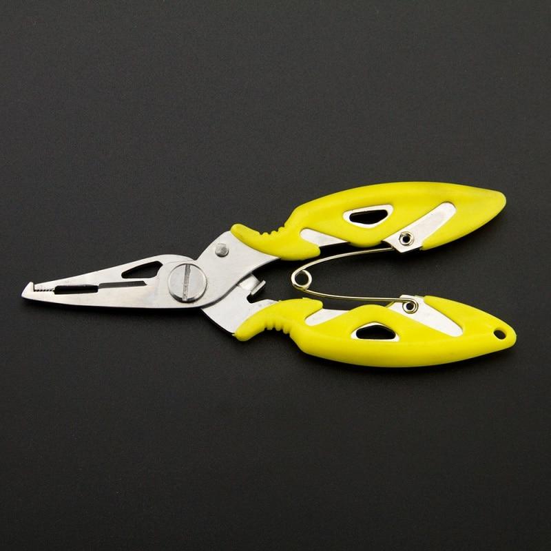 Steel Fishing Plier Scissor Braid Line Lure Cutter Hook Remo