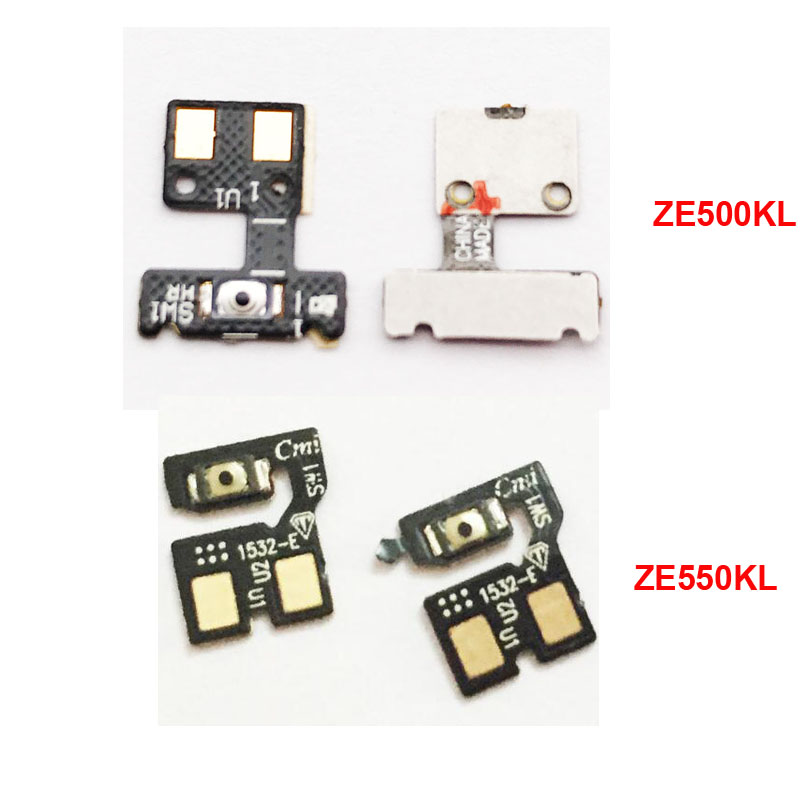 New For Asus Zenfone 2 Laser ZE500KL ZE550KL Power Button Volume Key Flex Ribbon Cable Replacement