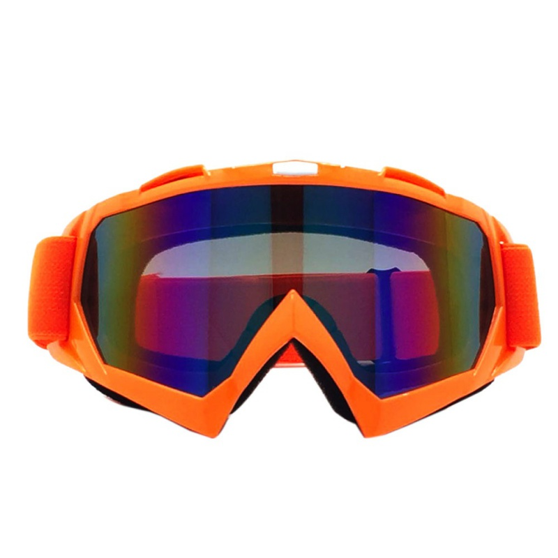 New Ski Snowboard Goggles Prevent Wind Snowmobile Dirt Bike Glasses Motocross Off-Road Eyewear Color Lens