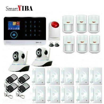 SmartYIBA 3G WCDMA WIFI Wireless Home Security font b Alarm b font System Video IP Camera
