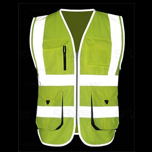 3d664fa717f SFvest ciclismo correr chaleco hi vis amarillo seguridad chaleco reflectante  chaqueta de seguridad empresa logo impreso envío gratis - a.dupa.me
