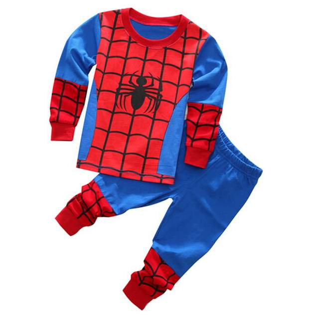 b09a054385 Online Shop New Spring Autumn Children Long Sleeve Sleepwear Girls Boys  Cotton Night Suit PJS Pajamas Sets Kids cartoon Pyjamas Pijamas Sets