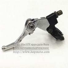 CHROME FOLDING CLUTCH LEVER LEVERS for 7/8