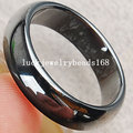 "Free Shipping Black Magnetic Hematite Ring 10"" (US)  FC1970"