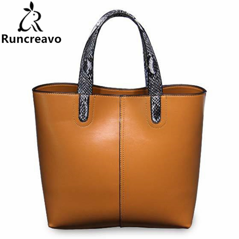 2018 new genuine leather handbag handmade fashion bucket bag ladies shoulder tote bag luxury handbag women bolsa feminina