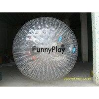 Травяной шар для зорбинга, мячи zorb в спорте и развлечений, надувной гигантский катающиеся шарики, надувной наземный Зорб шар