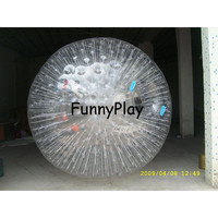 grass zorbing ball,zorb balls in sports and entertainment,inflatable giant rolling balls,inflatable ground zorb ball