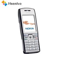 E50 100% D'origine Nokia E50 d'origine téléphone débloqué E50 quad bande FM Radio GSM Symbian téléphone portable Livraison gratuite