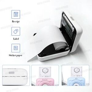 Image 3 - Impressora térmica portátil de bolso, impressora de 58mm para celulares android, ios, navio da espanha/rússia impressoras