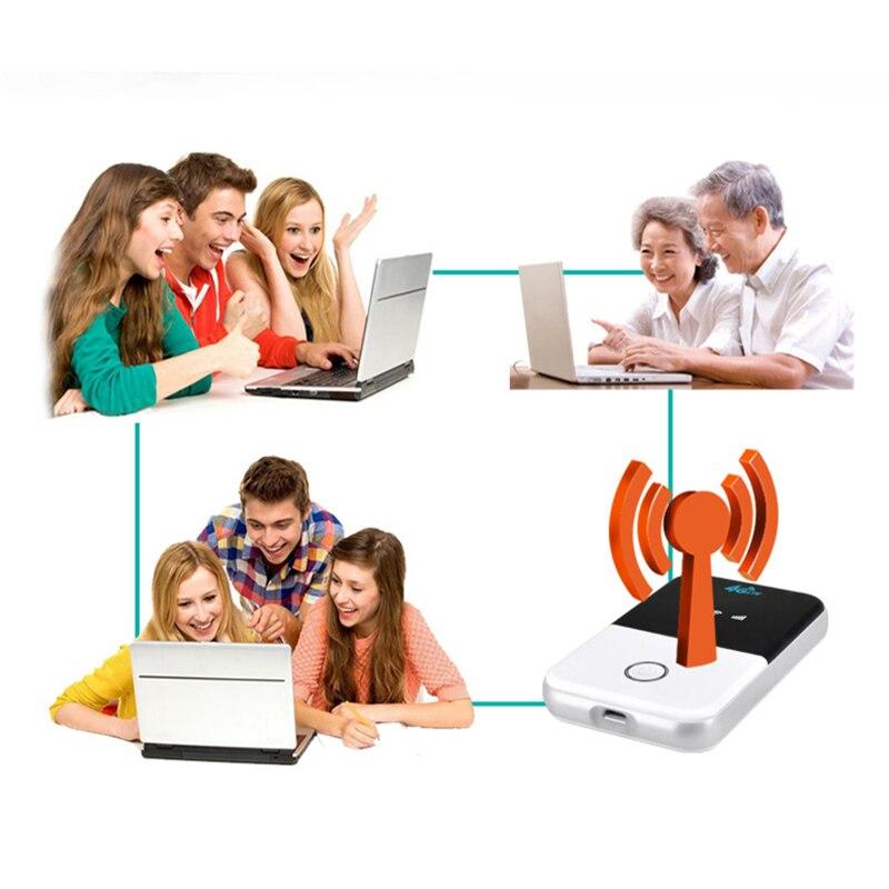 4G Lte Pocket 4g sans fil Wifi routeur voiture Mobile Wifi Hotspot sans fil haut débit Mifi débloqué Modem Extender répéteur - 6