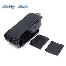 Новинка 1K0 862 531A82V пластик черный Европейский Центральная консоль подлокотник держатель для напитков для VW Jetta MK5 Golf MK6 Scirocco 1K0862531A