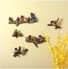 American country bird crafts, creative wall hangings, three-dimensional wall decorations, beautiful home gifts