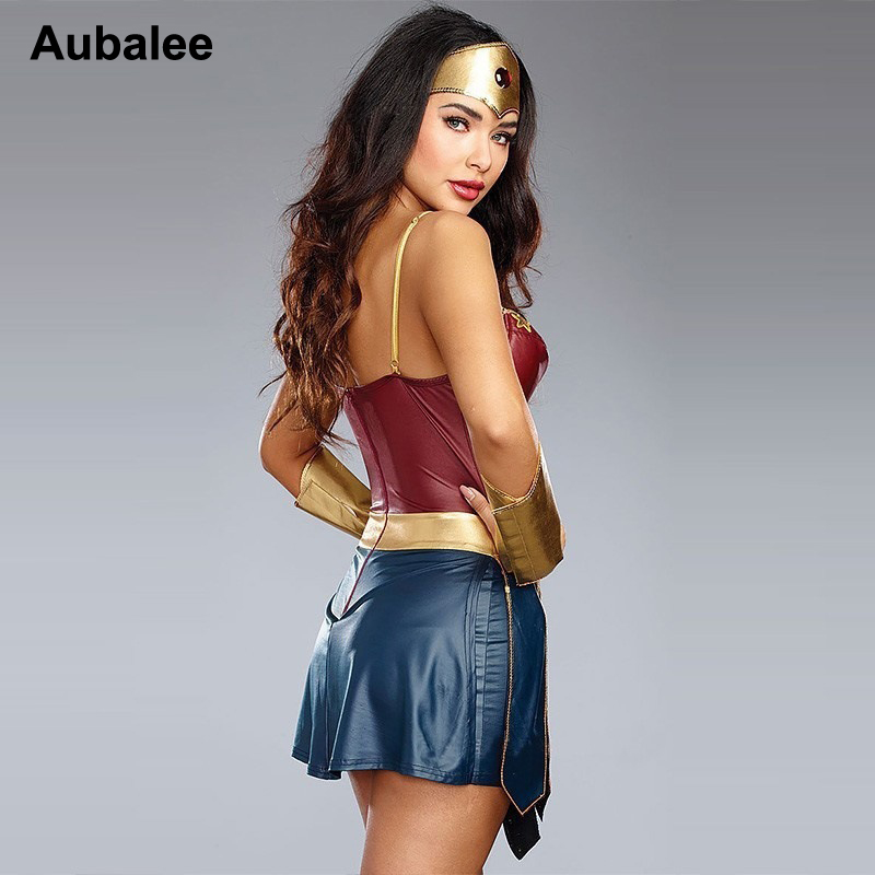 Wonder woman pants costume-8958
