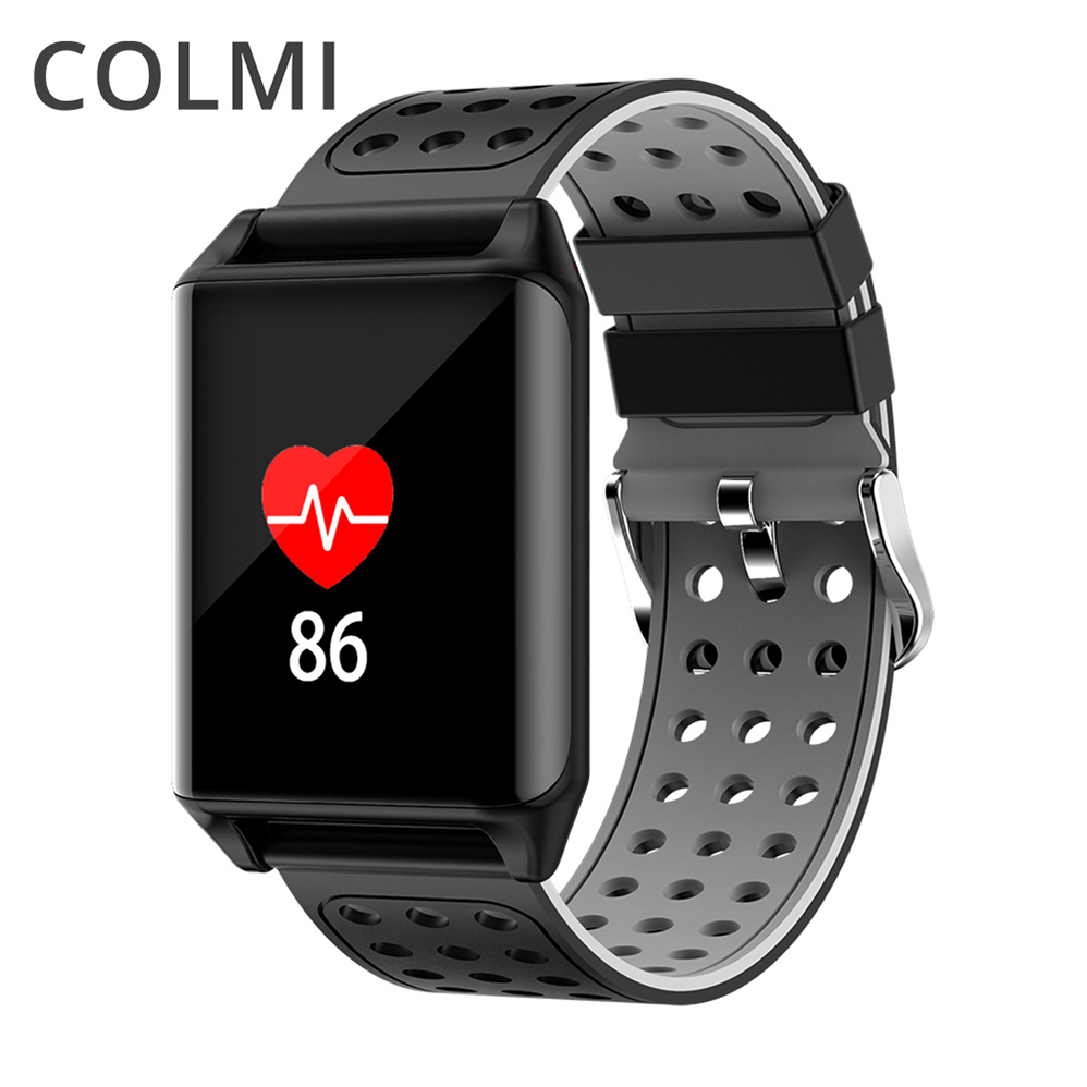 ColMi Bluetooth Smart Watch M7 Heart Rate Wristband With Blood Pressure Monitor Fitness Tracker Sports Band BRIM Smartwatch fs08 gps smart watch mtk2503 ip68 waterproof bluetooth 4 0 heart rate fitness tracker multi mode sports monitoring smartwatch
