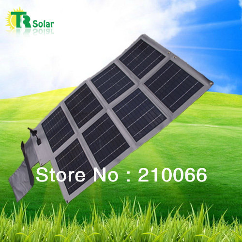 solar bank free shipping 70W waterproof foldable solar Charger Outdoor Charging USB Output 20000MAH Battey high effeciency