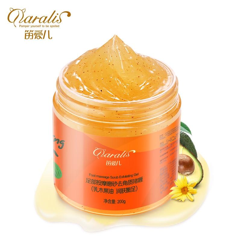 Daralis Foot Massage Scrub Exfoliating Gel Feet Care Peeling Cream Dead Skin Remove Whitening Smooth Moisturizing Delicate Foot