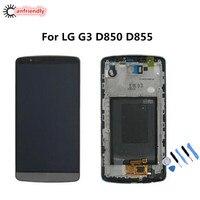 Pour LG G3 D850 D855 LCD Display + Écran Tactile de Remplacement Digitizer Assemblée Pour LG Optiums G3 G 3 lgg3 remplacer lcd écran
