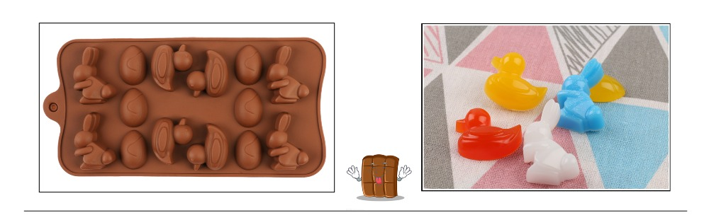29 Shapes Silicone Baking Molds Made Of Pure Silicon Material For Jelly And Candy Mold 15