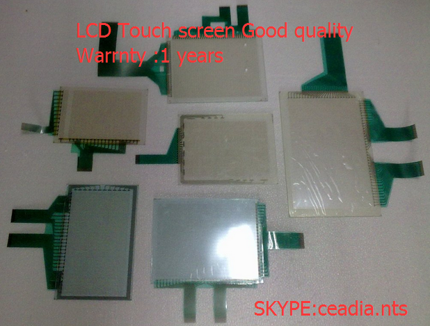 Touch screen glass panel  GT1595-XTBA touch screen glass panel ug630h xh