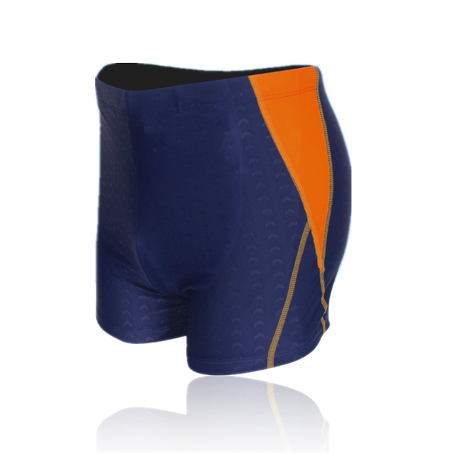 38f87e71159e8 Brand Sharkskin Plus Size Men swimming trunks Three colors Swim trunks swim  suit breathable Waterproof swim shorts swimwear
