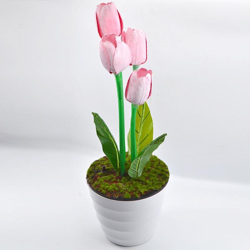 Regeneracji tulipan animować tulipan marzenie o tulipan magiczne sztuczki dla profesjonalny magik etap złudzenie sztuczka rekwizyty komedia w Sztuczki magiczne od Zabawki i hobby na  Grupa 1