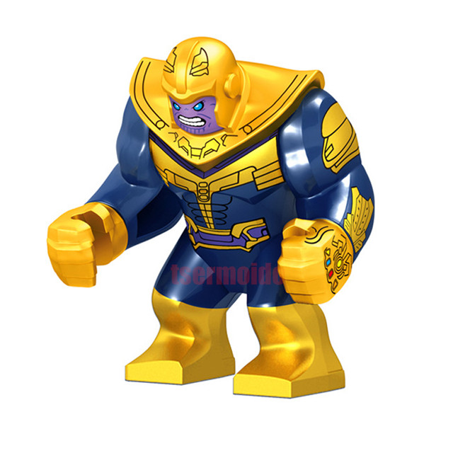 Super Heroes Legoings Avengers Infinity War Infinity Gauntlet Batman Thanos Thor Building Blocks Sets Figures Toy For Children in Blocks from Toys Hobbies