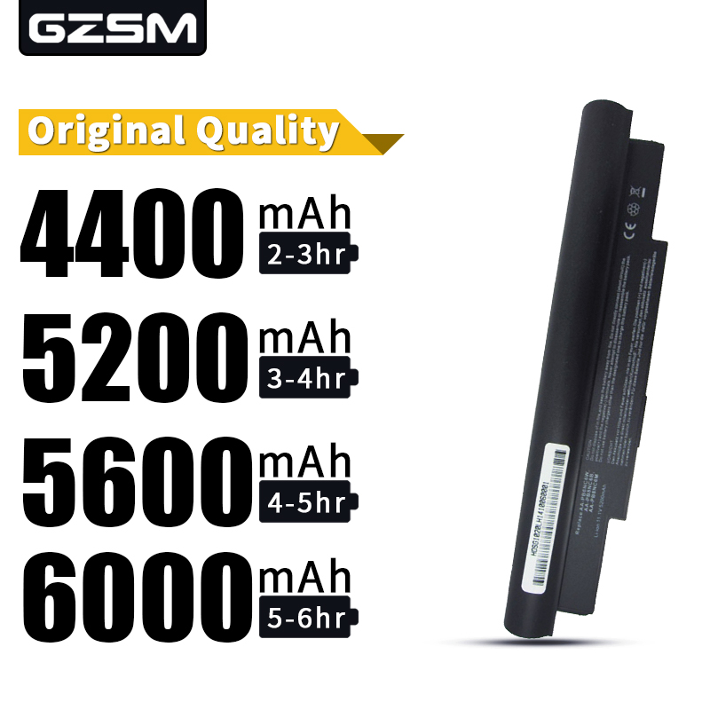 HSW 5200MAH 6cells Replace Rechargeable Laptop Battery For SAMSUNG N110 N120 N130 N140 N270 NC10 NC10 NC20 ND10 NP-NC10-KA03CN