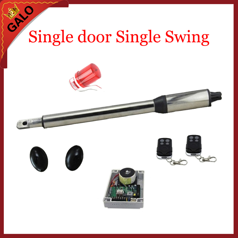 galo Single Swing ,Single piece automatic swing gate opener motors for 300kg gate 2 remote controls 1 warning light automatic swing gate opener motors for 300kg gate 2 remote controls